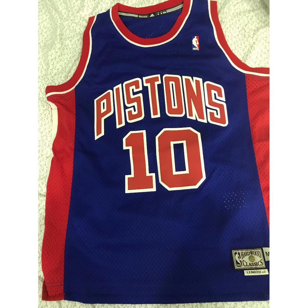 cheap for discount 38e52 a2654 NBA Dennis Rodman Detroit Pistons Hardwood Classics ...
