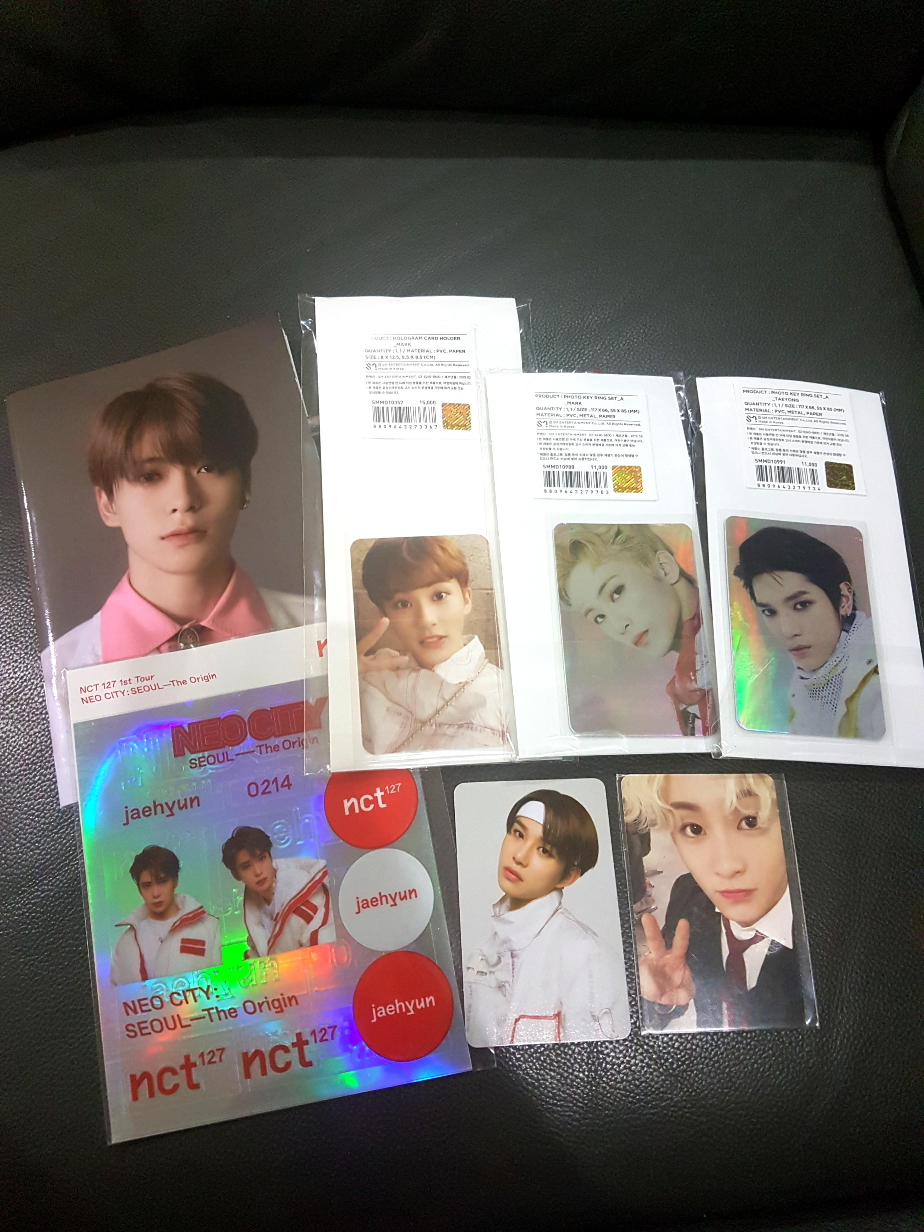 NCT 127 OFFICIAL GOODS
