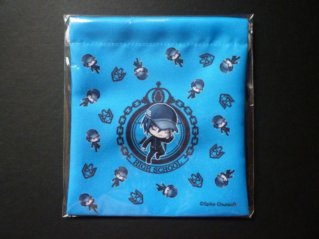 New Danganronpa V3: Minna no Koroshiai Shingakki - Saihara Shuuichi - Drawstring Bag - Rakuten Collection Lottery Dangan Ronpa V3