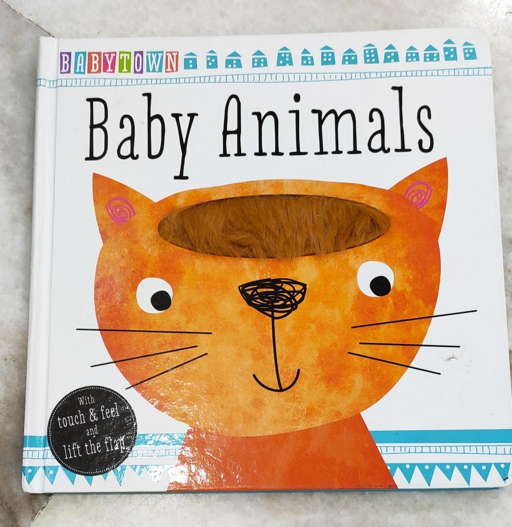 Preloved Baby Book-Baby Animals
