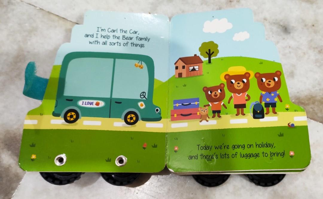 Preloved Baby Book-My First Wheel-Car
