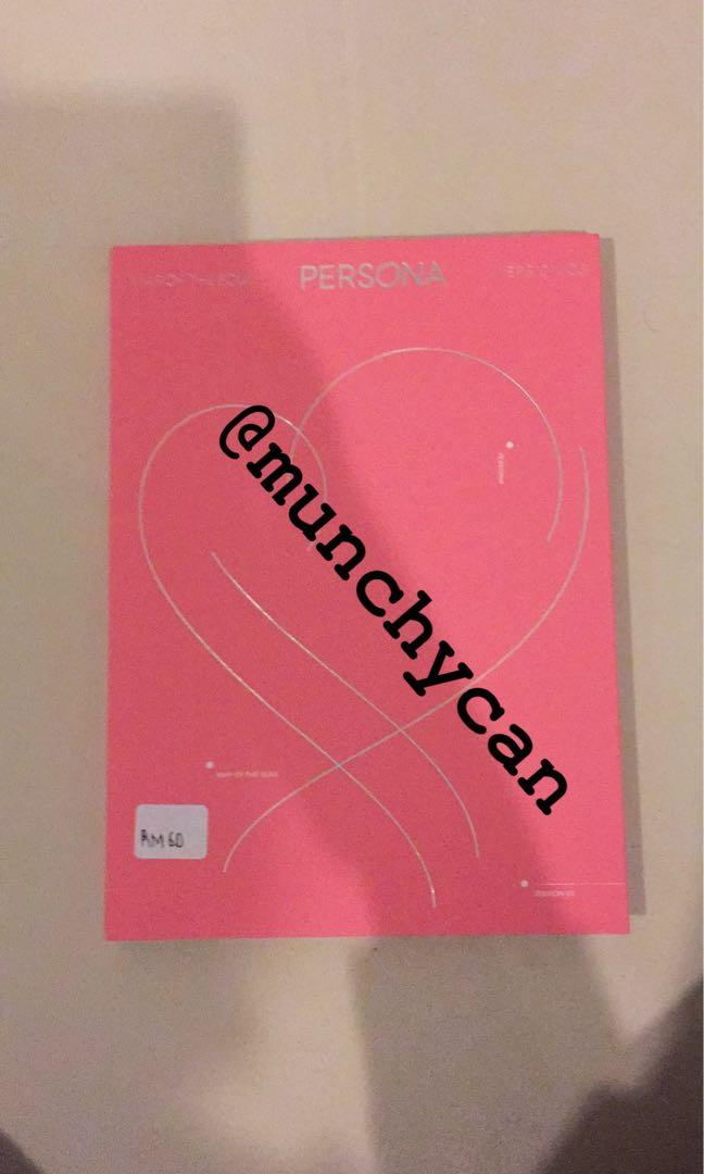 [READY STOCK] BTS MAP OF THE SOUL PERSONA VER. 3 SEALED.