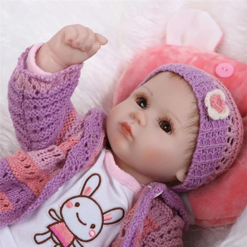 Reborn Girl 18'' Soft Silicone Reborn Baby