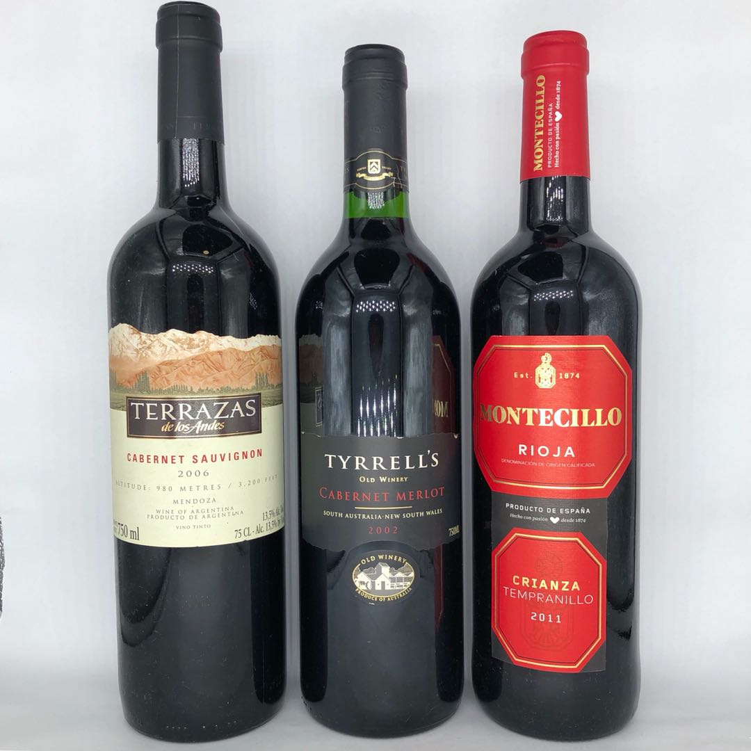 Red Wines From Argentina Australia And Spain Food Drinks