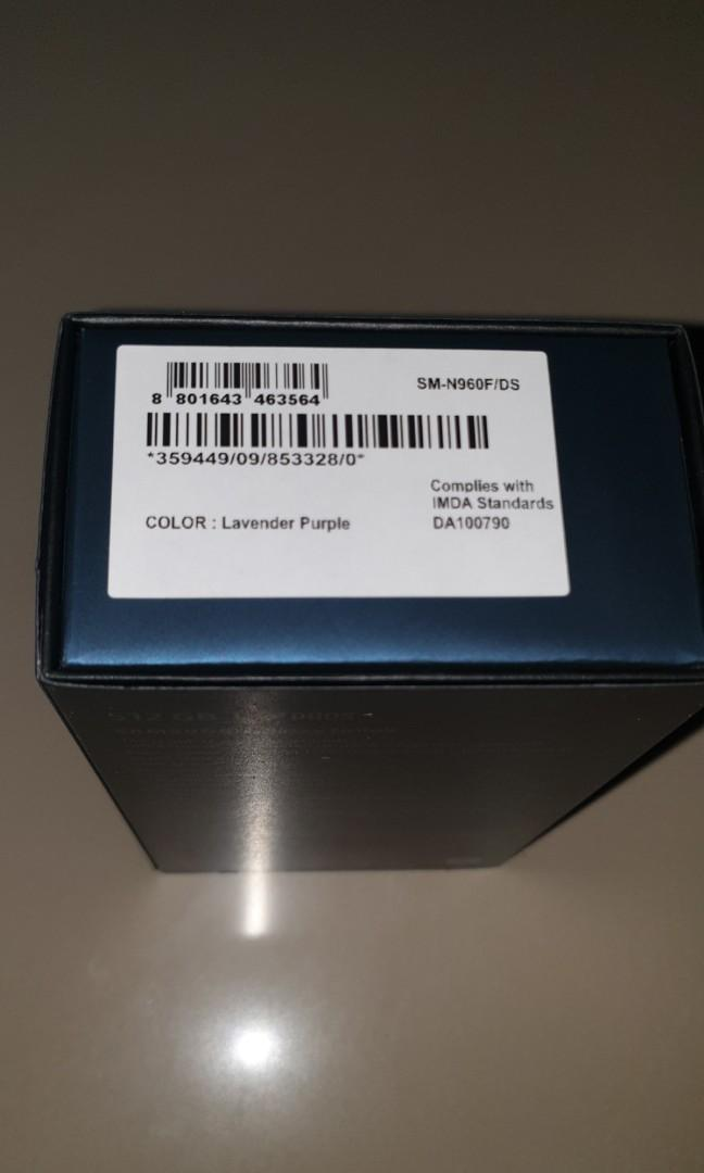 Samsung Note 9 512Gb