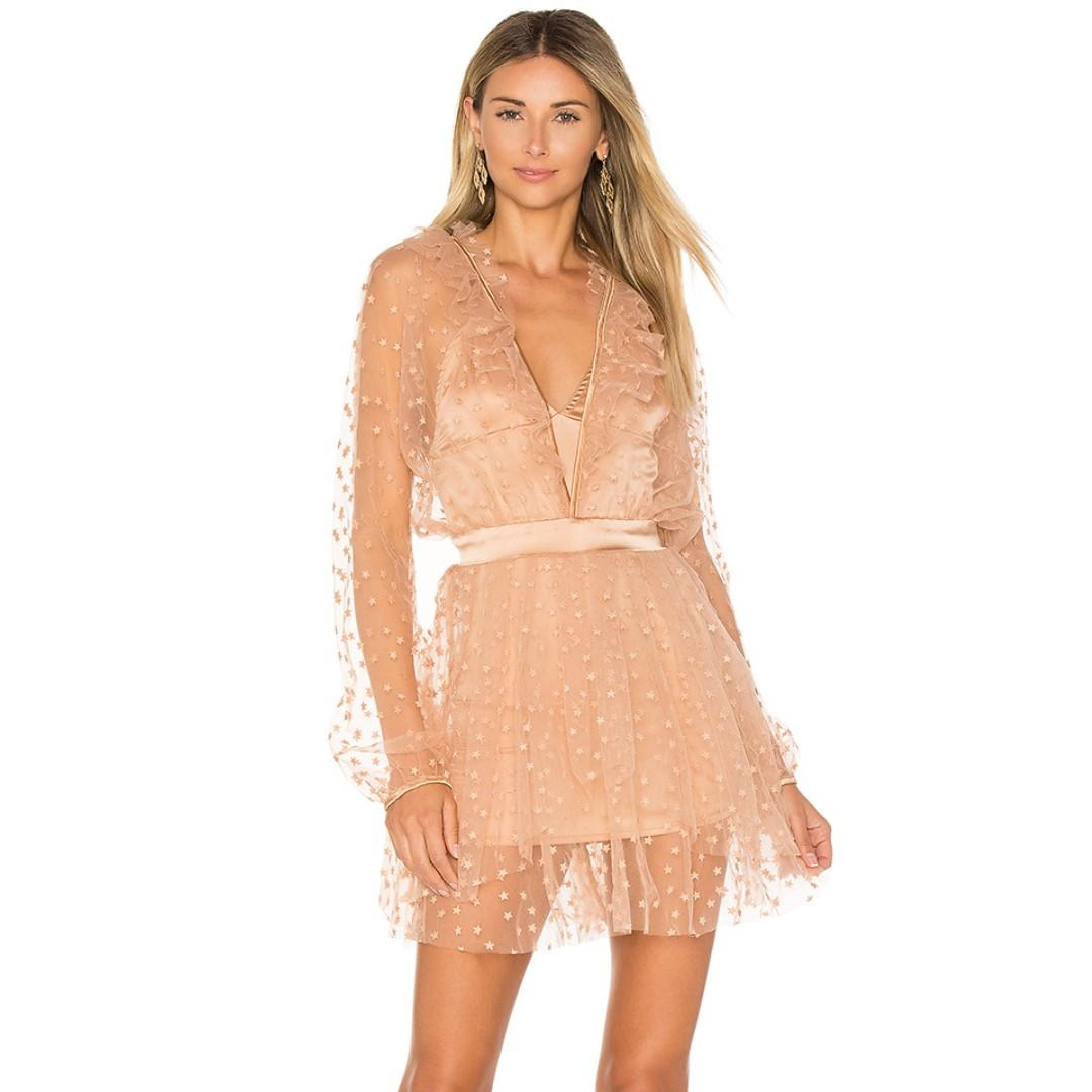 SOLD OUT For Love & Lemons All That Glitters Mini Dress