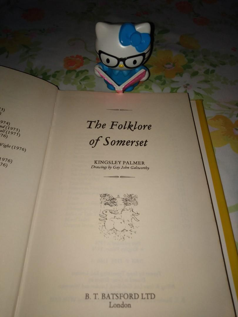 The Folklore of Somerset (The Folklore of the British Isles) by Kingsley Palmer