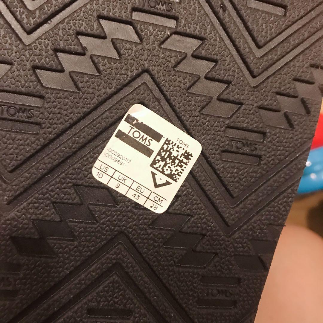 Toms flip flops 拖鞋