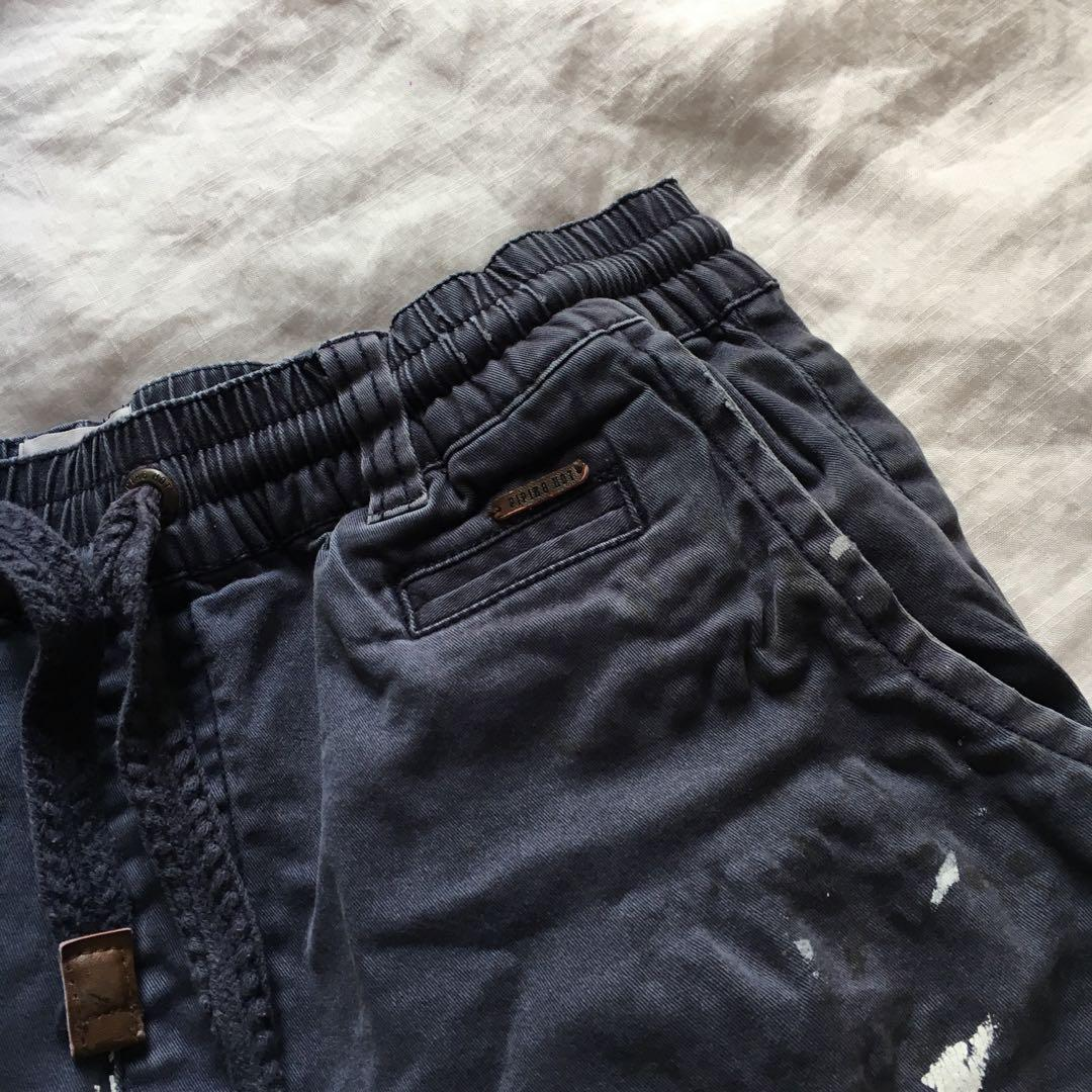 Vintage Navy Blue Cargo Shorts | Brand: Piping Hot