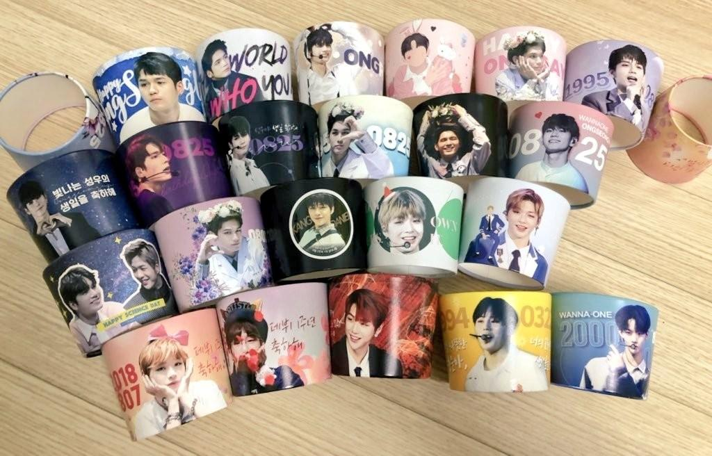 Wanna One Cup Sleeves