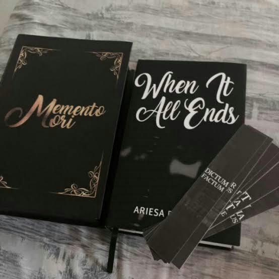 When It All Ends (WIAE) By Beeyotch/ Ariesa Domingo wattpad book self published