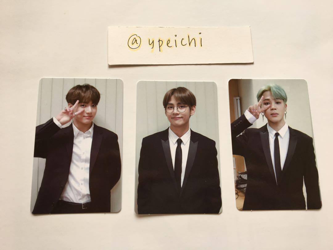 [WTS] BTS Memories Of 2018 DVD Official Photocard