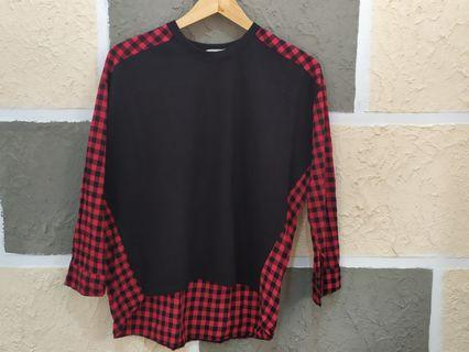 Korean market blouse