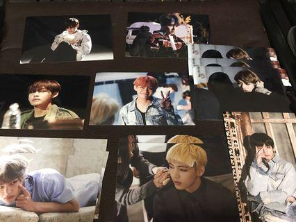 BTS EXHIBITION OFFICIAL TAEHYUNG LIVE PHOTO