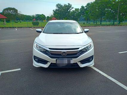 Honda Civic Fc 1.8 for RENT