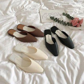 Korean women loafers sandals shoes