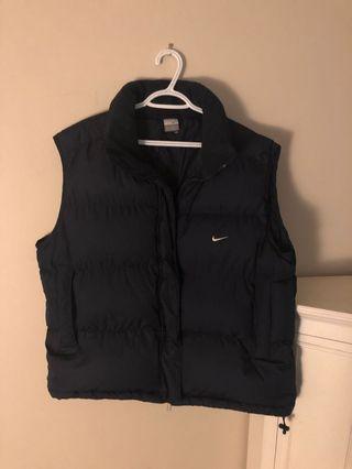 Vintage Nike navy puffer vest