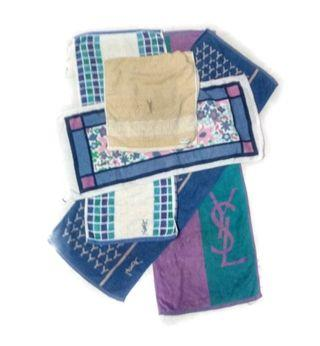 YSL.. combo 7 piece Yves Saint Laurent small towel any pattern
