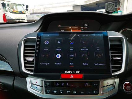 Android HU upgrade done on this wonderful Honda Accord! Car now comes with state of the art entertainment system!  Have yours upgraded now!  #accord #android #style #datsauto