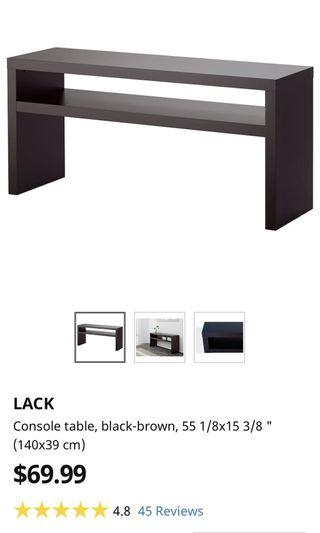 TV Set (TV stand and coffee table)