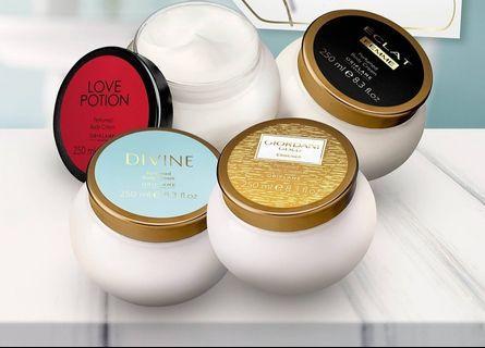 Giordani gold, Divine & Love Potion Perfumed Body Cream