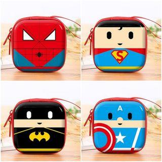 Superhero Earphone Case