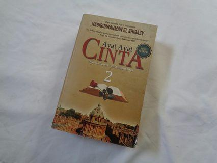 Buku novel ayat ayat cinta 2
