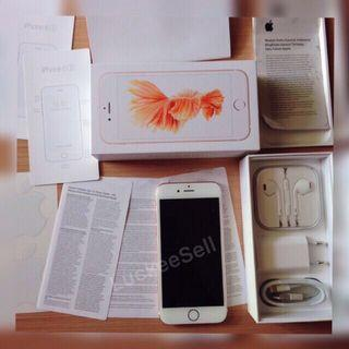 iPhone 6s 32GB Rose Gold NewNonactivation Resmi iBox