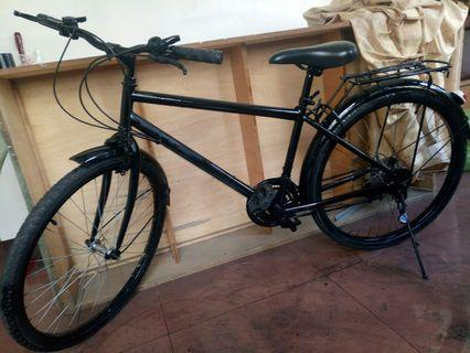 All black bike