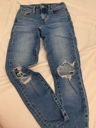 Levis 721 Highwaisted Skinny Jeans