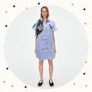 POLO SHIRT DRESS look a like