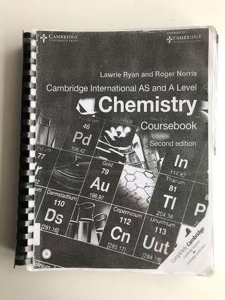 Cambridge AS and A Level Chemistry Textbook (Photocopy)