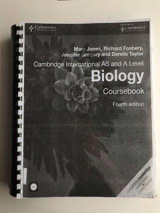 Cambridge AS and A Level Biology Textbook (Photocopy)