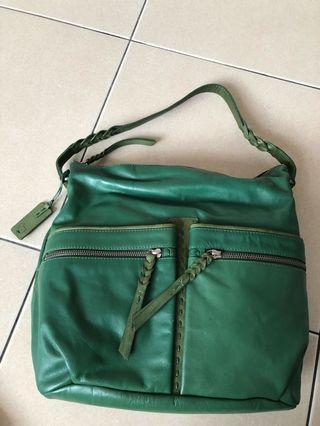 Radley London green leather bag