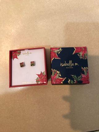 Brand New Isabella M Boston Earrings