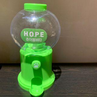 Mini Green Vending Machine Toy