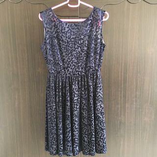 Zara 藍色洋裝