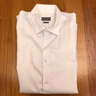 Zara Men's Shirt (Size L) - White