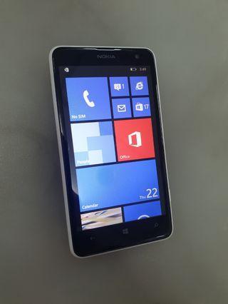 Nokia lumia 625 (window)