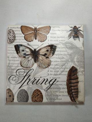 蝶古巴特立體紙雕