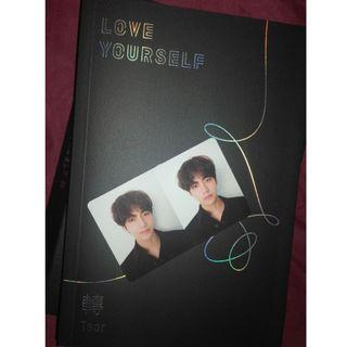 BTS LOVE YOURSELF TEAR VER R (with TAEHYUNG pc)