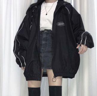 韓國學生潮牌crossdresssly夏秋防風外套