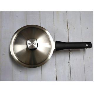 (含運/宅配)【出清|全新】THERMOS膳魔師新一代達人原味鍋K23-F18單柄湯鍋18cm