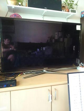 二手 三星 55吋 3D 智慧型聯網 LED 液晶電視 UA55C7000 2010年