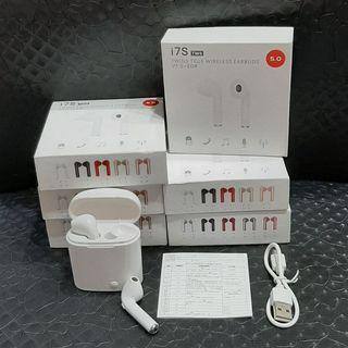 5.0版 i7S TWS 藍芽座艙雙耳機 Bluetooth  Headphones