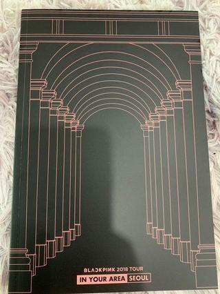 Blackpink Seoul dvd photobook