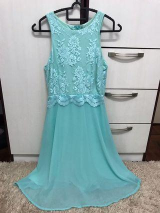 Emcee Couture Mint Dress