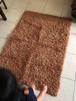 Shaggy Carpet (Brown)