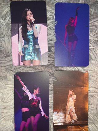 Exclusive photocard official from Seoul dvd blackpink