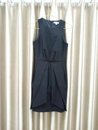 LOVE BONITO DRESS HITAM SEMI FORMAL